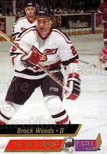1993-94 Wheeling Thunderbirds #6 Brock Woods