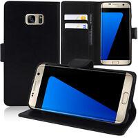Etui Coque Housse Portefeuille Video NOIR pour Samsung Galaxy S7 edge G935F