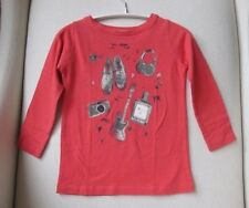 BONPOINT BABY GIRLS CORAL T-SHIRT TOP 3 YEARS