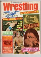Wrestling 1974 Annual Jack Brisco
