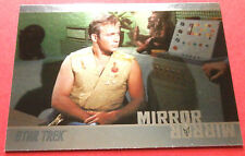 "STAR TREK TOS 50th Anniversary - MM21 ""MIRROR, MIRROR"" (uncut) - Foil Chase Card"
