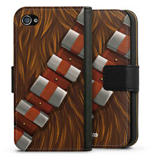 Apple iPhone 4 bolso funda flip case-Chewbacca