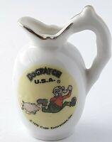 1975 DogPatch USA Mini Pitcher Pappy Yokum Salomey Golden Age Lil Abner Capp