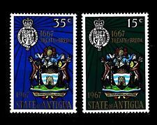 ANTIGUA - 1967 - 300 anni del Trattato di Breda