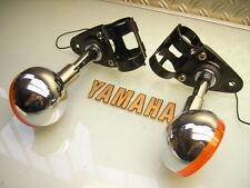 XT 500 C'76 1n5 Head Lamp Bracket Cover/FANALI LAMPADE Supporto + FRECCE