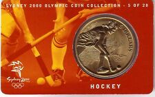 2000 $5 Hockey Sydney Olympic Games Coin  5 of 28