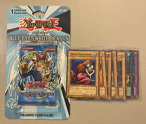 🚀📈1st Edition Legend Of Blue Eyes White Dragon Booster Pack - Spanish - Opened
