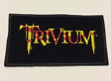 TRIVIUM Embroidered Rock Band Sew On Patch UK SELLER Patches 9.5 x 5 cm