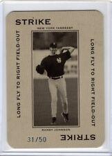 Randy Johnson 2005 Donruss Throwback Threads POLO GROUNDS Ser#d 31/50 Strike