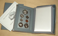 1991 United States Mint Prestige Set Mount Rushmore 7 Coins Original Box COA US