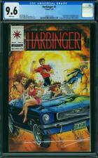 Harbinger #1 CGC 9.6 White Pages Has Coupon ONLY 48,000 COPIES MADE!!