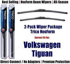 2-Pack Premium NeoForm Wipers fits 2009-2017 Volkswagen VW Tiguan - 162415/2115