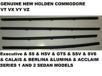 Outer Door Weather Window Rubber Seal Holden commodore VT VX VY VZ SEDAN GENUINE