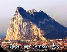 ROCK OF GIBRALTAR #1 - Travel Souvenir Flexible Fridge Magnet