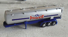 HO Scale Plastic Power Oil Tanker Truck Trailer