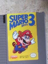NINTENDO NES GAME SUPER MARIO BROS 3 CARTRIDGE PLUS CASE ORIGINAL 1985