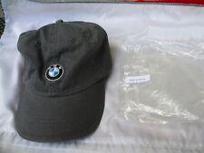 Gray BMW Lifestyle Adjustable Cap Hat New w/ Tag & Bag P/N 80 16 0 036 352