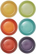 Le Creuset Rotondo Piatto Calore Ceramica Lc18cm (6 Sheets) Rainbow Collection