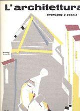 L'ARCHITETTURA. Cronache e storia. Direttore Bruno Zevi 1958. N.32