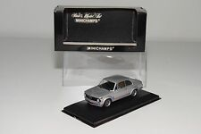 = MINICHAMPS BMW E9 2002 TURBO 1973-1974 METALLIC SILVER GREY MINT BOXED