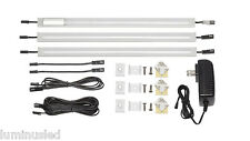 Luminus Solutions 12 Inch Warm White Modular Under Cabinet Lighting 3 Panel Kit