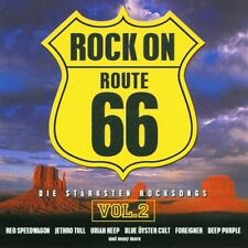 Route 66-Rock on 2-Die stärksten Rocksongs Reo Speedwagon, The Jeff Heale.. [CD]