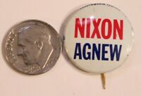 Nixon Agnew Pinback Button Political Richard Nixon President Vintage Spiro