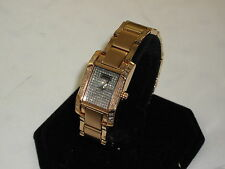 CROTON LADIES GORGEOUS DIAMOND W/ QUARTZ MOVEMENT VERY NICE