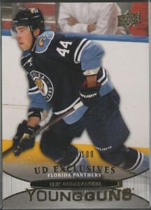 2014-15 Upper Deck Exclusives Young Guns  #217 Erik Gudbranson 11/100