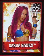 97 Sasha Banks Topps WWE Ultimate Collection sticker