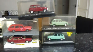 5 X DIE CAST CARS, SOLIDO, NEW IN BOXES