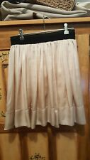 Stunning SILENZIO ladies silky look skirt with elasticated waistband (size  38)