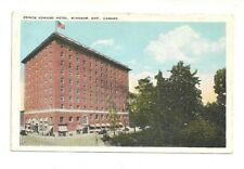 PRINCE EDWARD HOTEL, WINDSOR, ONTARIO, CANADA VINTAGE POSTCARD