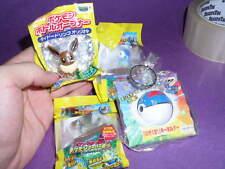 ot S10  Pokemon figure Eevee Piplup Staraptor mixed lot .