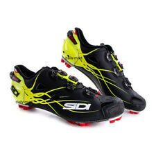 New SIDI TIGER Carbon Mountain MTB Cycling Shoes Matte Black Yellow US Warehouse