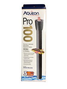 Aqueon Pro Adjustable Heater 100 Watt, up to 40 Gallons BRAND NEW-UNOPENED.