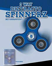 TWO CHELSEA FC (2) OFFICIALLY LICENSED FIDGET SPINNER! *SAFETY CERTIFIED TESTED*