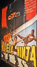 MAFIA CONTRE NINJA ! affiche cinema karate