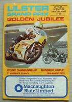 ULSTER GRAND PRIX 18 Aug 1979 MOTOR CYCLE RACE Official Programme GOLDEN JUBILEE