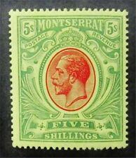 nystamps British Montserrat Stamp # 42 Mint OG H $85 M5y570