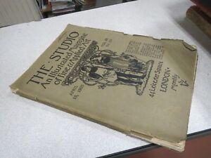 CA115 THE STUDIO AN ILLUSTRATED MAGAZINE OF FINE APRIL 15 1903 VOL 28 N° 121
