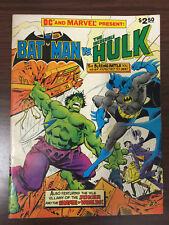 Batman vs. The Incredible Hulk 1981-Treasury comic book-DC