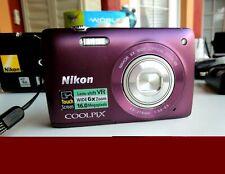 Nikon COOLPIX plum S4300 16.0MP Digital Camera with Touchscreen