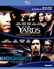 NEW GENUINE USA BLU RAY THE YARDS & THE LOOKOUT  FAST   FREE S&H 1ST CLASS