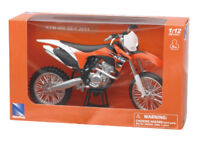 NEW RAY MODELO CRUZ MOTO MX KTM 450 SX F ESCALA 1:12 MODELO BIKE IDEA DE REGALO