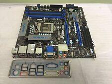 MSI H55M-ED55  LGA 1156 Intel H55 Micro ATX Motherboard With IO Plate MS-7635