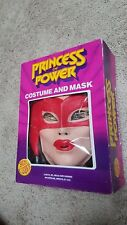 Complete inbox VTG 1985 Ben Cooper Cat-Ra Princess of Power Mask Costume and Box