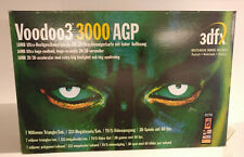 Retro Grafikkarte graphics card adapter 3Dfx VooDoo 3 3000 AGP 16MB inkl. OVP