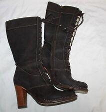 FRYE Villager Lace Espresso Women's Boots Size 7