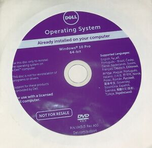 DELL System Recovery DVD
